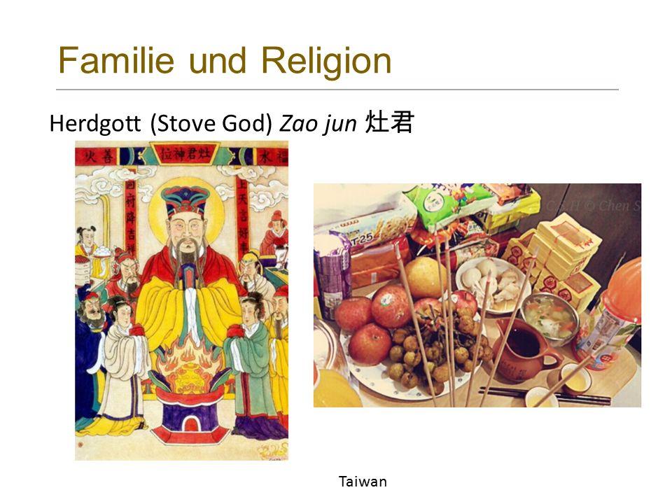 Familie und Religion Herdgott (Stove God) Zao jun 灶君 Taiwan