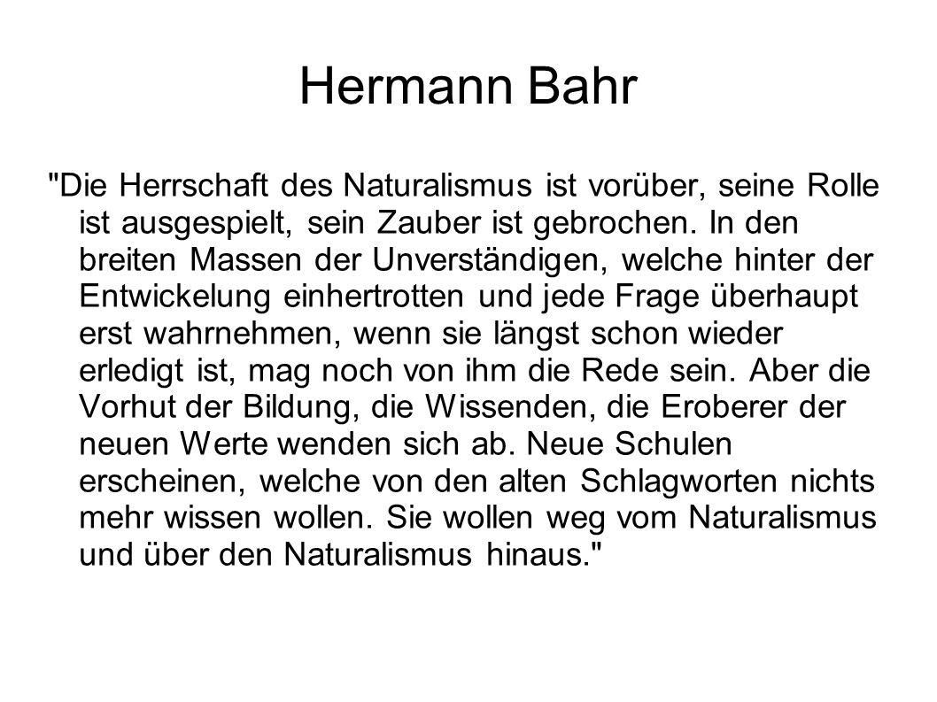 Hermann Bahr 1894 Mitherausgeber der liberalen Wochenschrift Die Zeit Lucie Kostrbová: Mezi Prahou a Vídní.