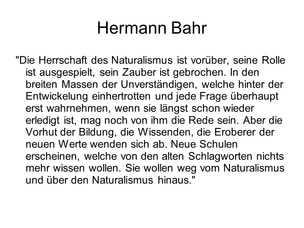 Hermann Bahr