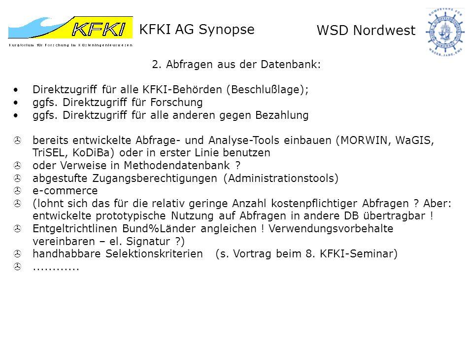 KFKI AG Synopse WSD Nordwest 3.