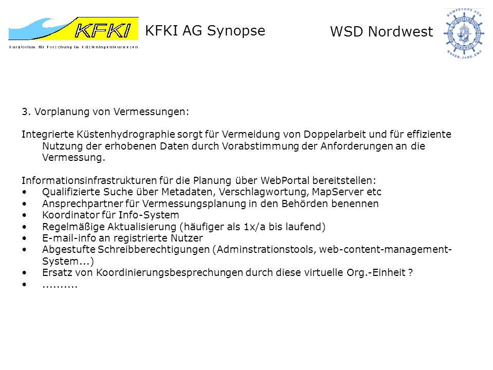 KFKI AG Synopse WSD Nordwest Danke für die Aufmerksamkeit .
