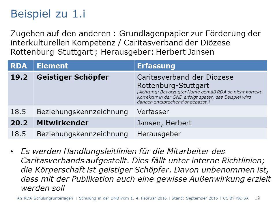 19 Zugehen auf den anderen : Grundlagenpapier zur Förderung der interkulturellen Kompetenz / Caritasverband der Diözese Rottenburg-Stuttgart ; Heraus