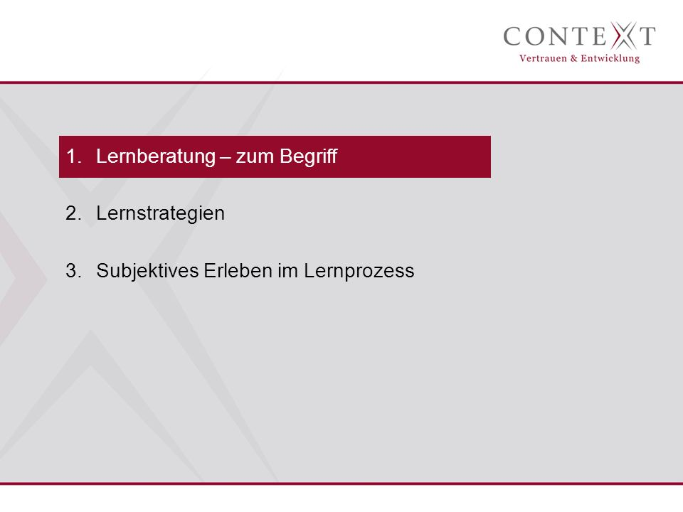 Was ist Lerncoaching.