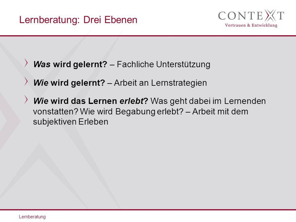 Vielen Dank für Ihre Aufmerksamkeit.CONTEXT Vertrauen & Entwicklung Eichhofstr.