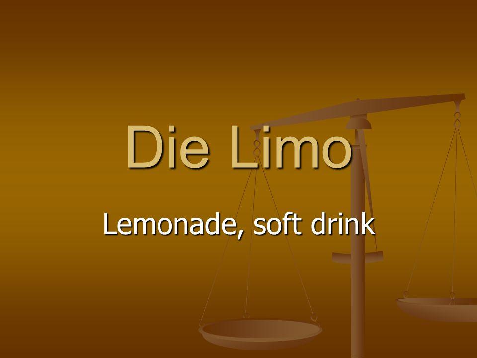 Die Limo Lemonade, soft drink