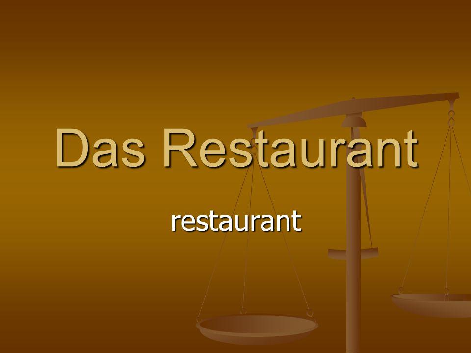 Das Restaurant restaurant