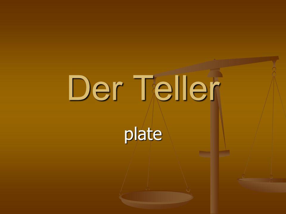 Der Teller plate