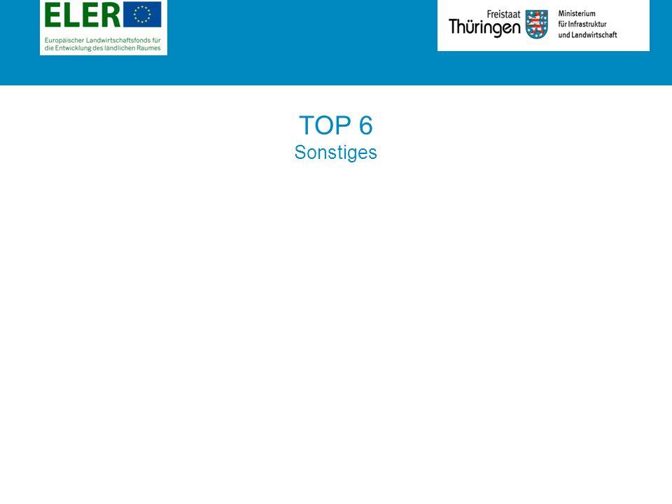 Rubrik TOP 6 Sonstiges