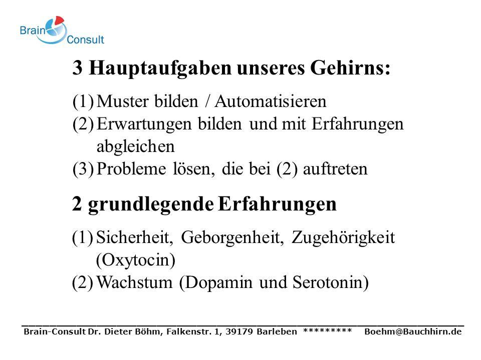 __________________________________________________________________ Brain-Consult Dr. Dieter Böhm, Falkenstr. 1, 39179 Barleben ********* Boehm@Bauchhi