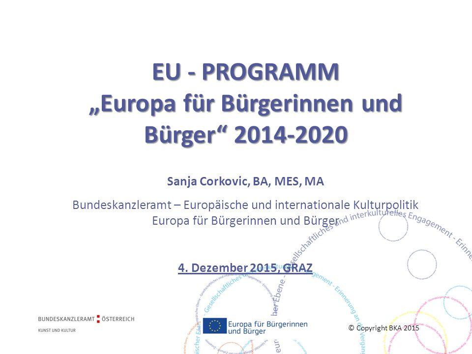 Einführung in das Bürgerschaftsprogramm 2014-2020  Allg.
