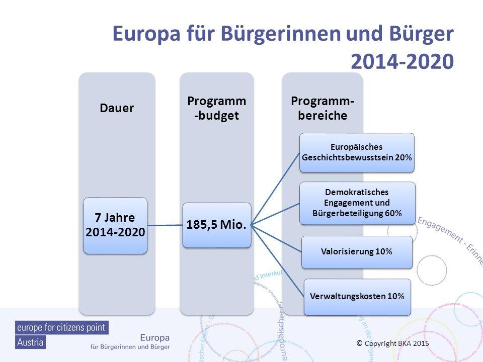 Bereich2: Programmprioritäten für 2016 1) Euroskeptizismus verstehen und diskutieren (Eurokritik; Europhobie; völlige Ablehnung der EU) Gründe für den Euroskeptizismus/zugleich Nutzen der EU-Politik Worin bestehen die Gefahren des Euroskeptizismus für die europäische Integration und Ihre Zukunft.