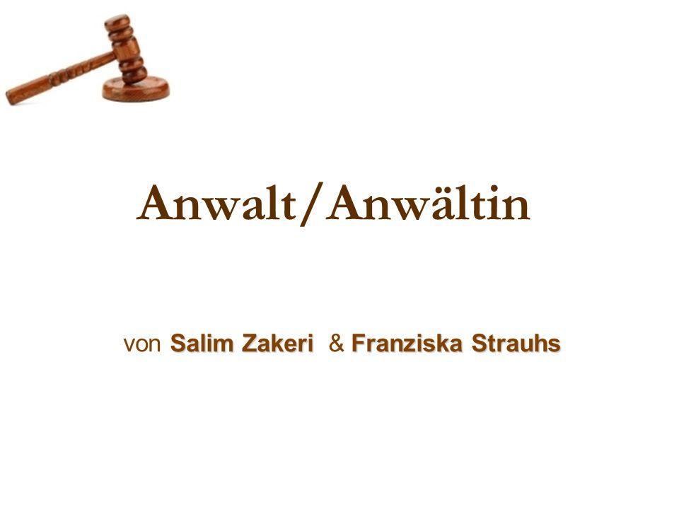 Anwalt/Anwältin Salim ZakeriFranziska Strauhs von Salim Zakeri & Franziska Strauhs