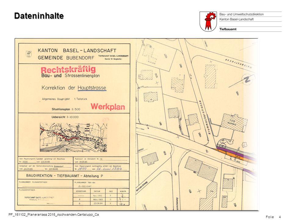 Folie www.tba.bl.ch 5 GVM Region Basel: Projektinformation