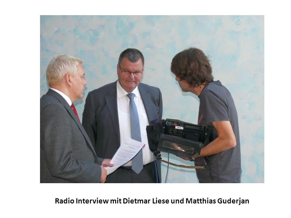 Radio Interview mit Dietmar Liese und Matthias Guderjan