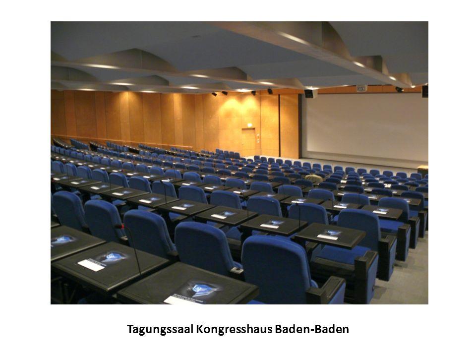 Tagungssaal Kongresshaus Baden-Baden