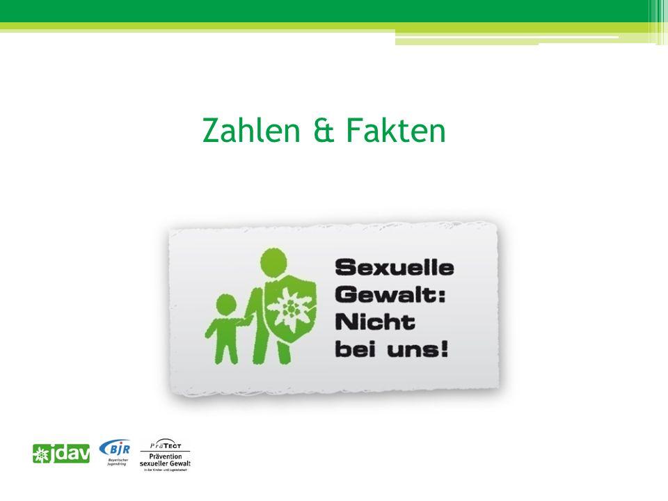 Zahlen & Fakten unterschiedliche Formen von sexualisierter Gewalt Ca.