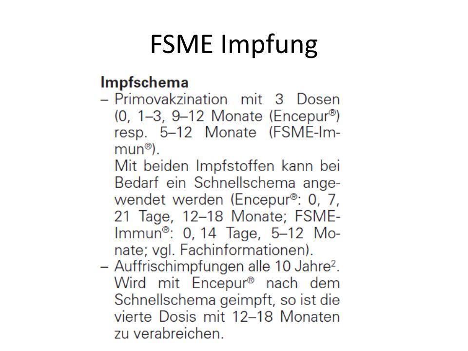 FSME Impfung