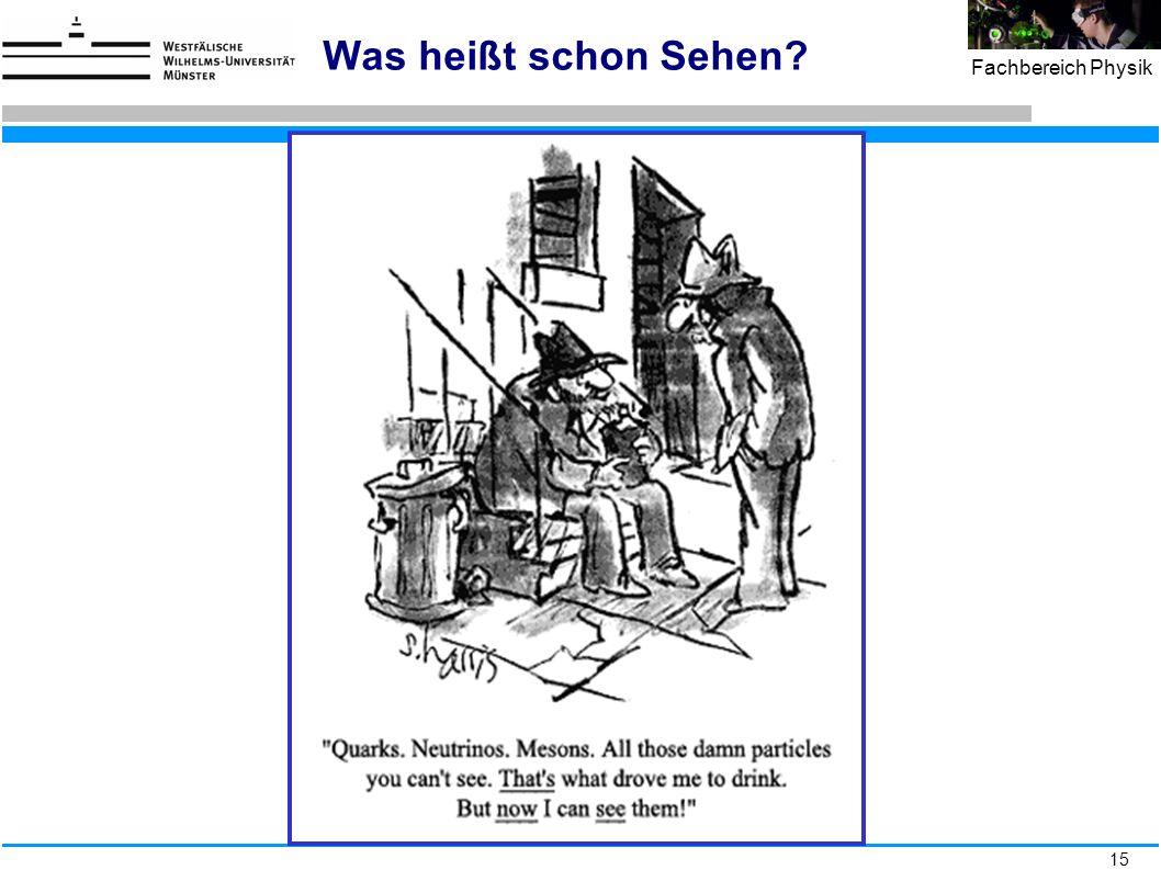 15 Fachbereich Physik jpw, Physikertagung 10.9.09 Was heißt schon Sehen?
