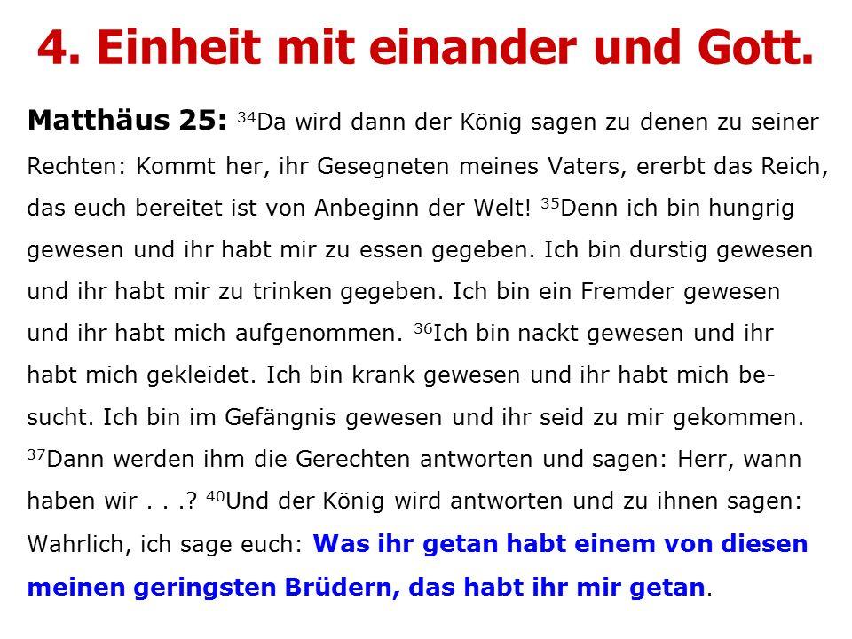 Matthäus 25: 34 Da wird dann der König sagen zu denen zu seiner Rechten: Kommt her, ihr Gesegneten meines Vaters, ererbt das Reich, das euch bereitet ist von Anbeginn der Welt.