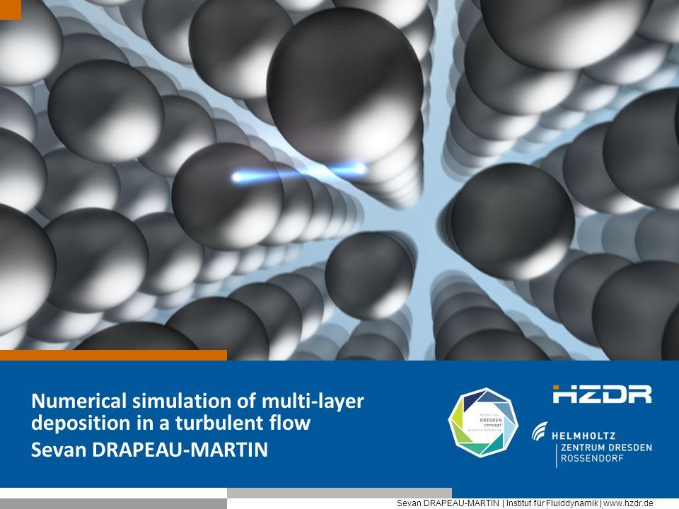 Prof. Peter Mustermann | Institut xxxxx | www.hzdr.de Seite 1 Sevan DRAPEAU-MARTIN | Institut für Fluiddynamik | www.hzdr.de Numerical simulation of m