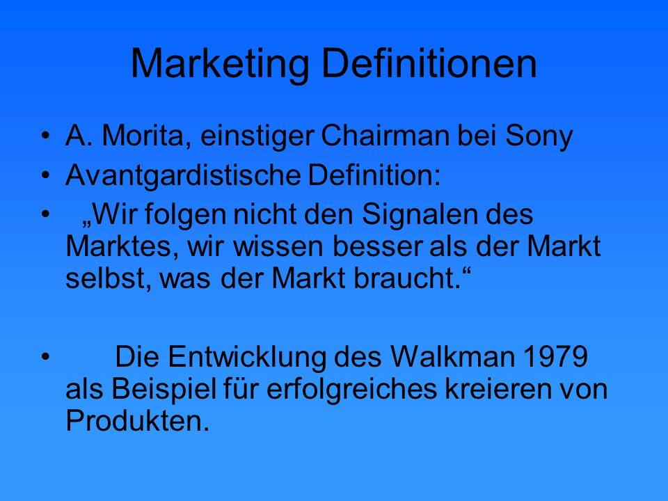 Marketing Definitionen Prof. Dr. Christian Weis: Führungsphilosophie