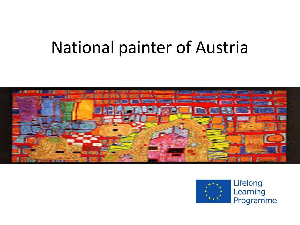 Friedensreich Regentag Dunkelbunt Hundertwasser Friedrich Stowasser *15th of December 1928 in Vienna †19th of February 2000 Best-known Austrian Artist
