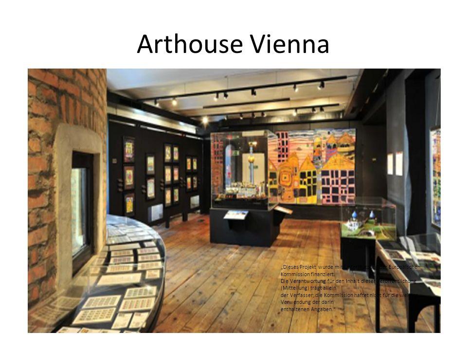 """Arthouse Vienna """"Dieses Projekt wurde mit Unterstützung der Europäischen Kommission finanziert. Die Verantwortung für den Inhalt dieser Veröffentlichu"""