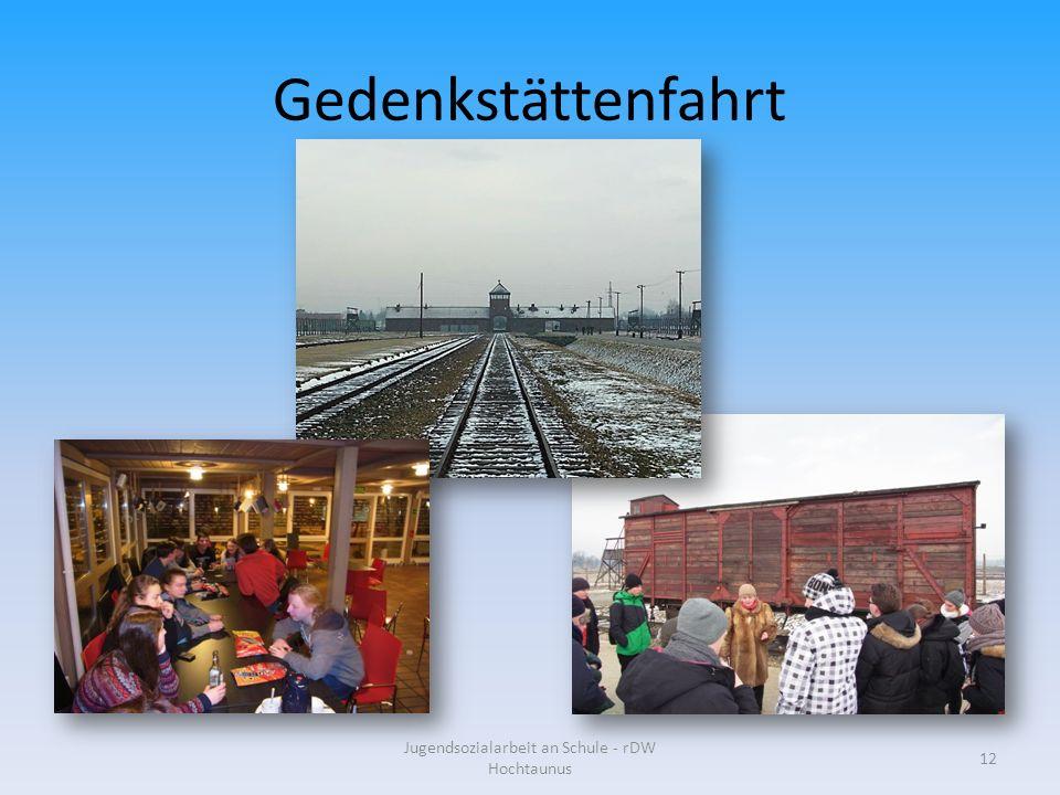 Gedenkstättenfahrt Jugendsozialarbeit an Schule - rDW Hochtaunus 12