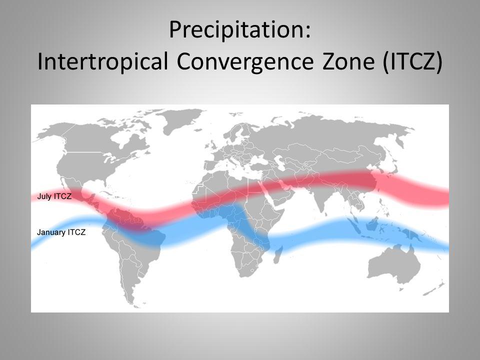 Precipitation: Intertropical Convergence Zone (ITCZ)