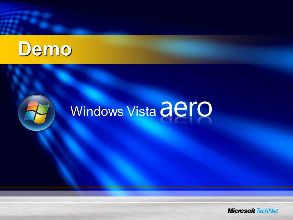 Windows Vista Demo