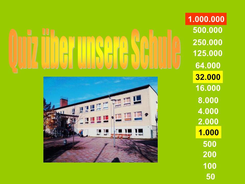 a) Herr Stallmannb) Herr Schwuchow c) Herr Voglerd) Herr Hansch 50 Wer ist unser Schuleiter?