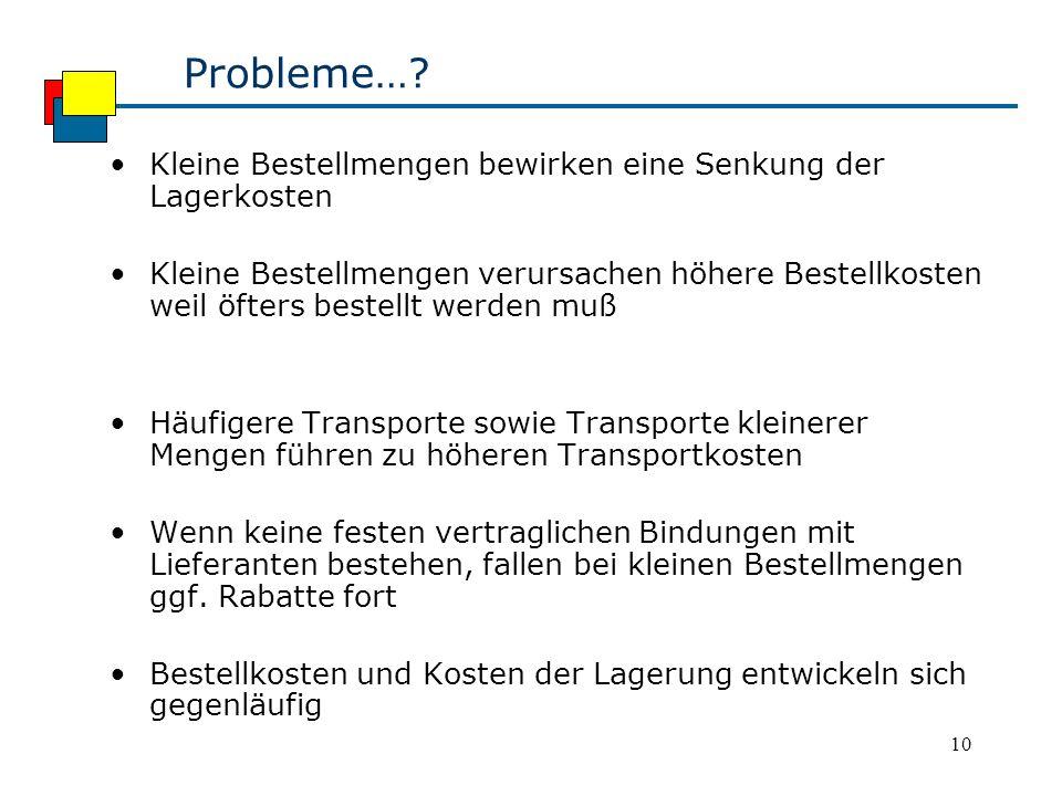 10 Probleme….