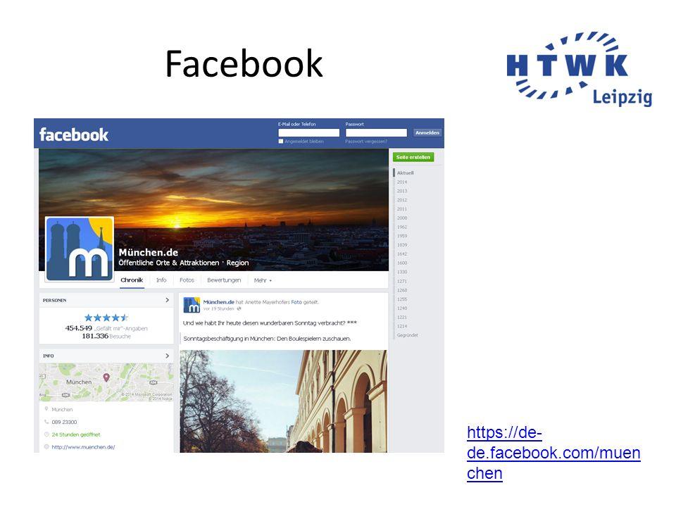 Facebook https://de- de.facebook.com/muen chen