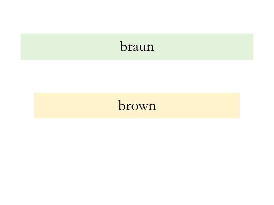 braun brown