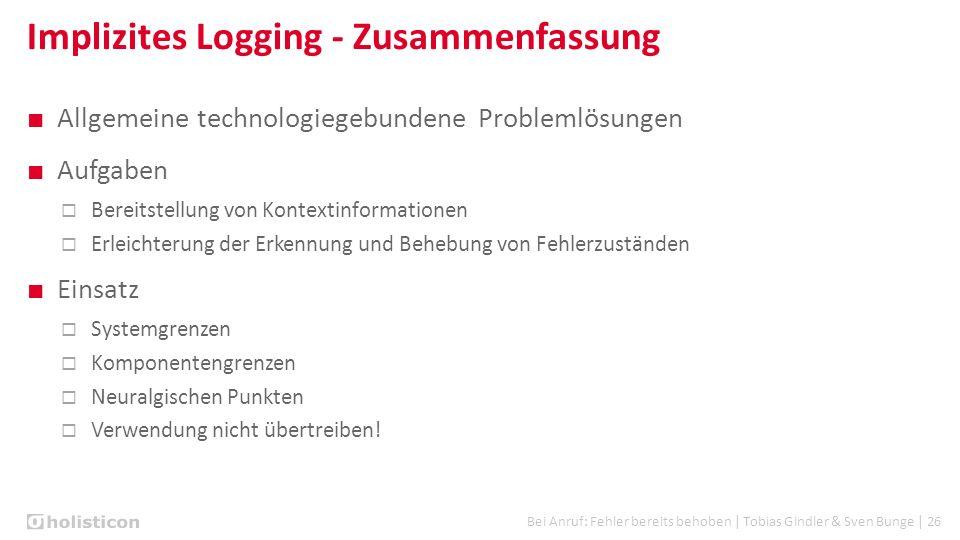 Bei Anruf: Fehler bereits behoben | Tobias Gindler & Sven Bunge | 26 ■ Allgemeine technologiegebundene Problemlösungen ■ Aufgaben  Bereitstellung von