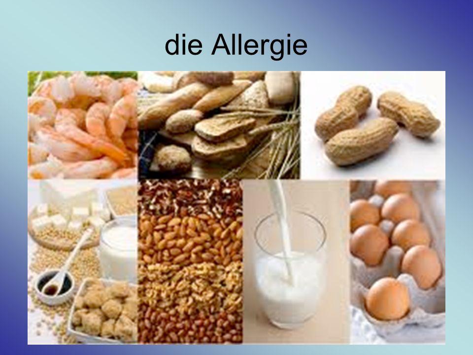 die Allergie