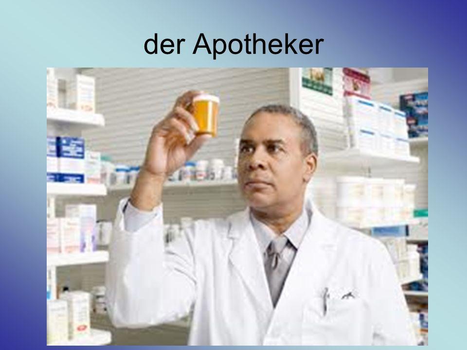 der Arzt / die Ärztin