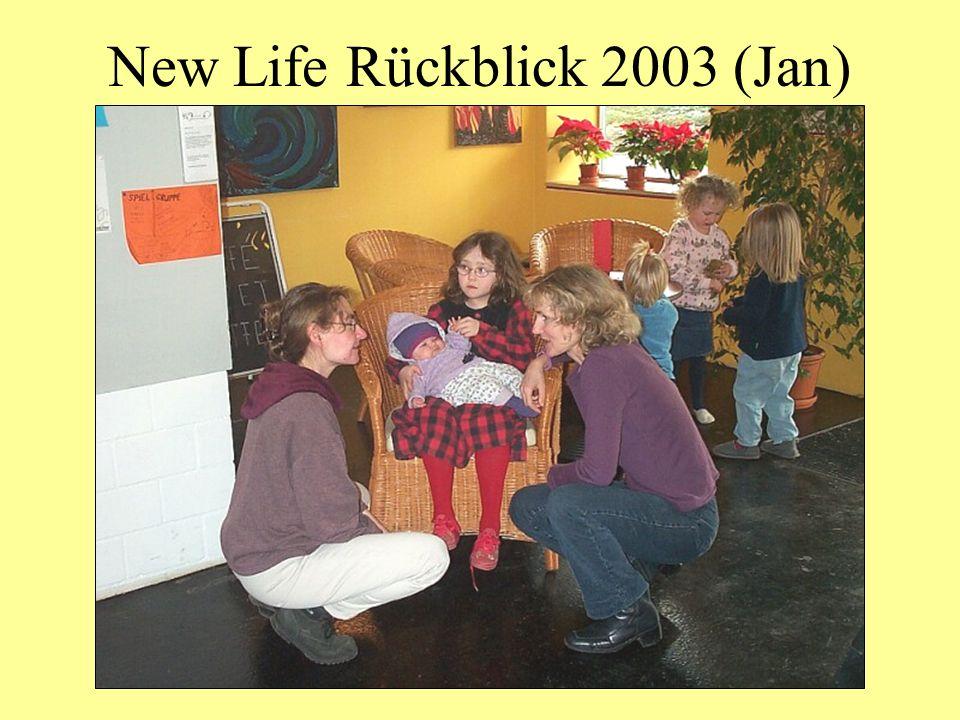 New Life Rückblick 2003 (Jan)