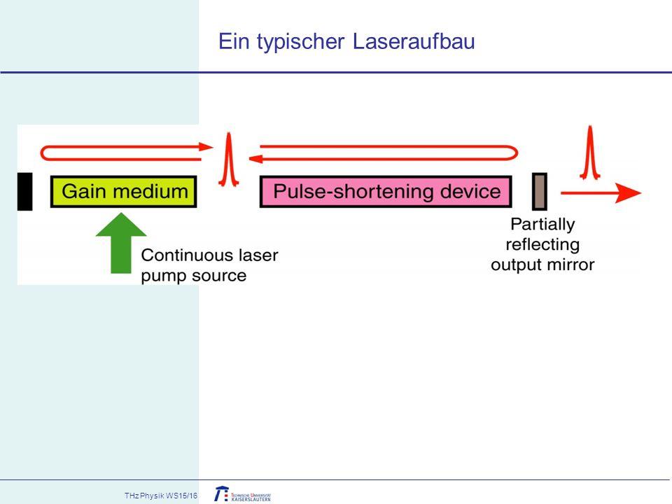 THz Physik WS15/16 Ein typischer Laseraufbau