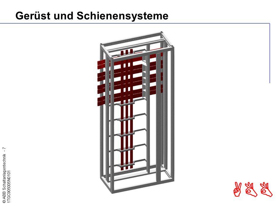 © ABB Schaltanlagentechnik - 18 1TGC905005N0101 ABB Ausbauvariante Smissline S