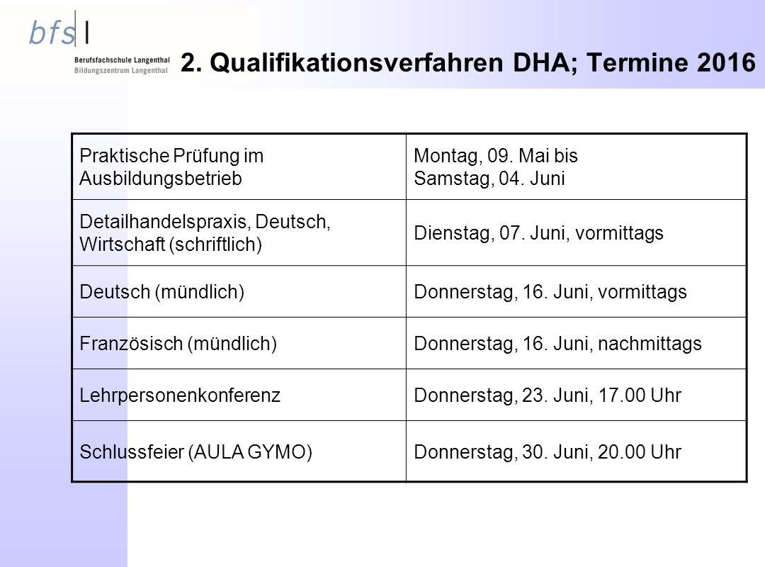 Praktische Prüfung im Ausbildungsbetrieb Montag, 09.