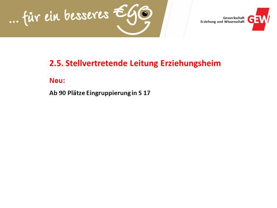 Gewerkschaft Erziehung und Wissenschaft 2.5.