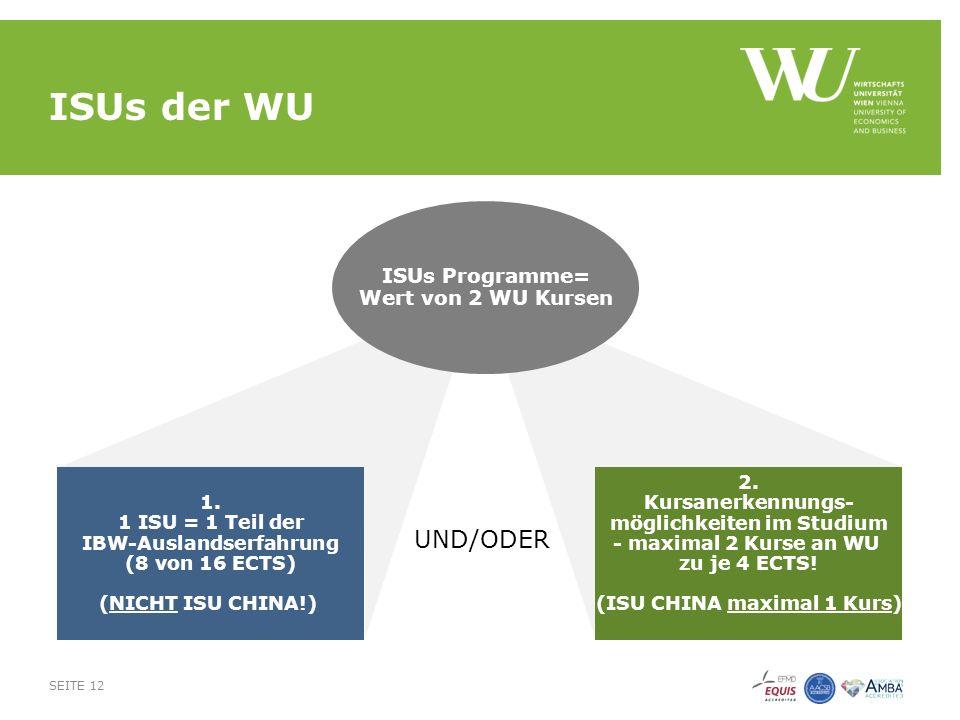 ISUs der WU SEITE 12 2.