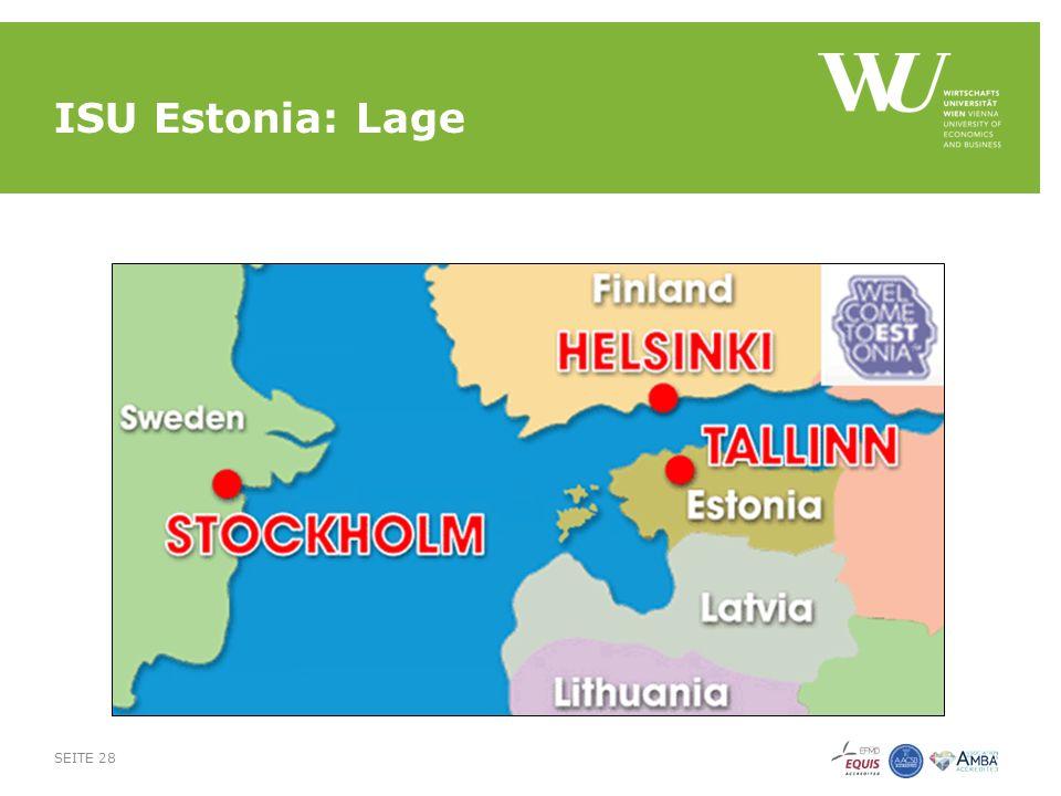 ISU Estonia: Lage SEITE 28