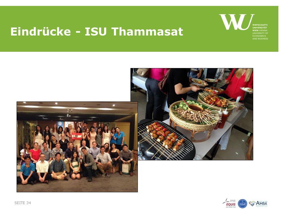 Eindrücke - ISU Thammasat SEITE 34