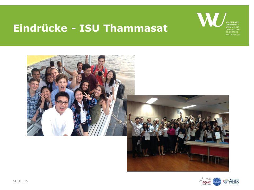 Eindrücke - ISU Thammasat SEITE 35