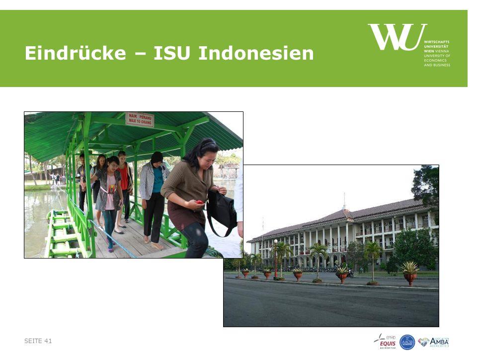Eindrücke – ISU Indonesien SEITE 41