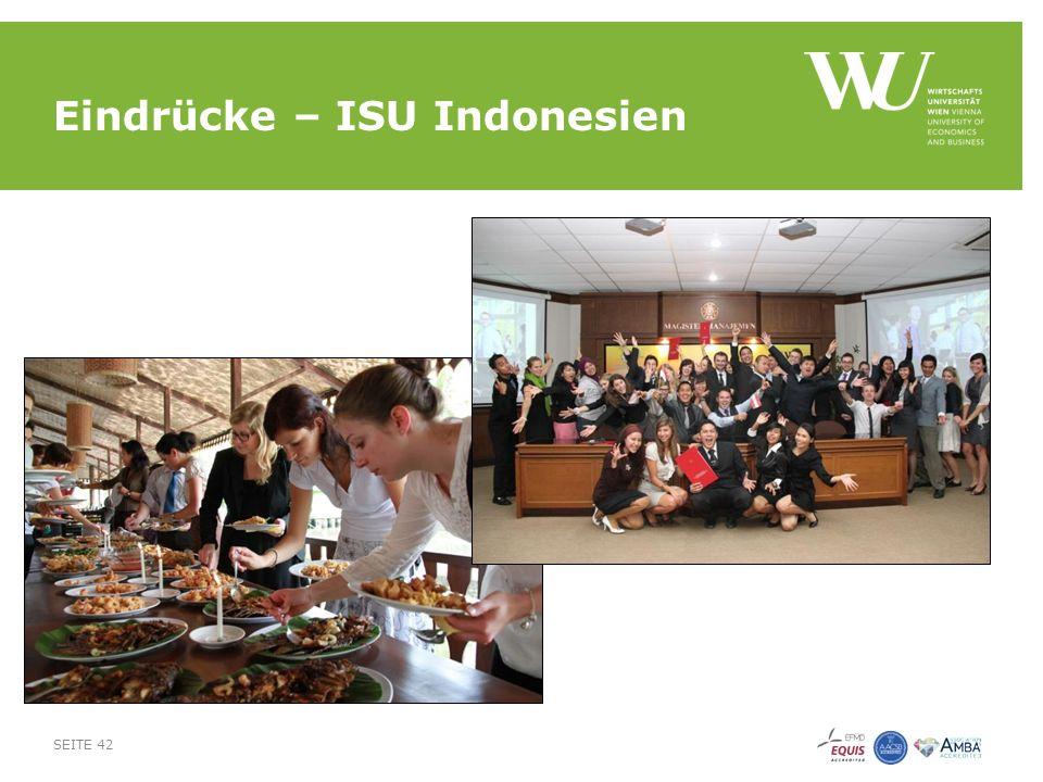 Eindrücke – ISU Indonesien SEITE 42