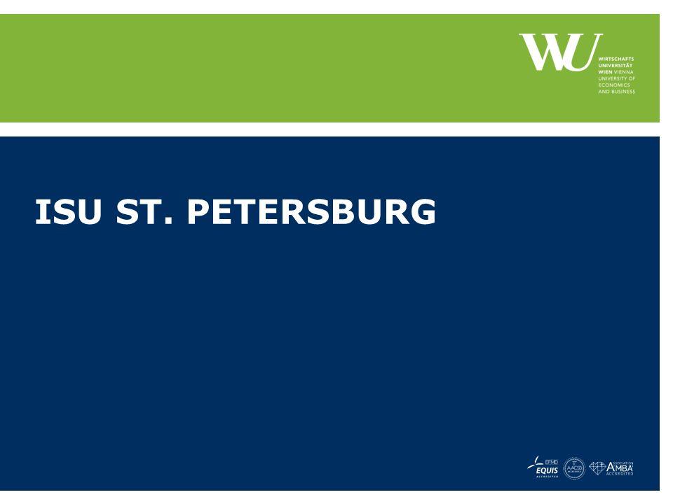 ISU ST. PETERSBURG