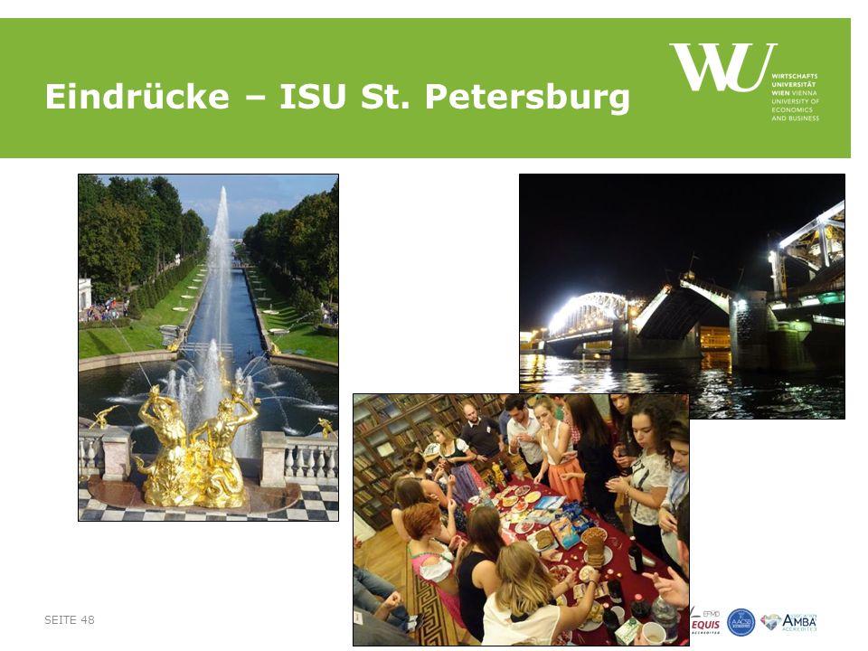 Eindrücke – ISU St. Petersburg SEITE 48